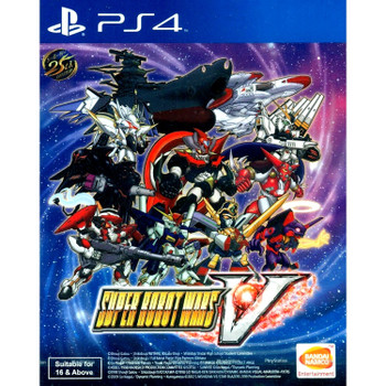 SUPER ROBOT WARS V (Playstation 4) [ENGLISH MULTI LANGUAGE]