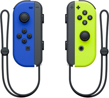 Joy-Con Wireless Controllers - Blue/Neon Yellow (Nintendo Switch)