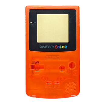 Gameboy Color Replacement Shell - Clear Orange (GBC)