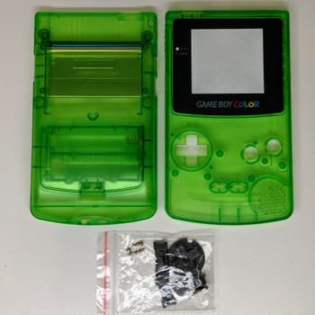 Gameboy Color Replacement Shell - Clear Green (GBC)