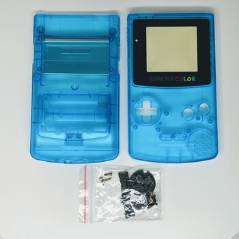 Gameboy Color Replacement Shell - Clear Blue (GBC)