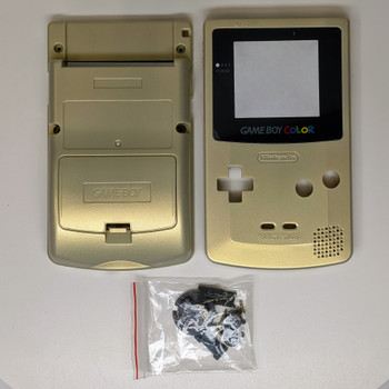 GameBoy Color Replacement Shell - Gold (GBC)