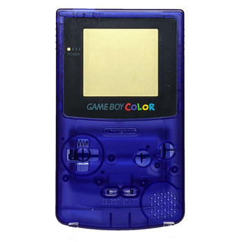 GameBoy Color Replacement Shell - Clear Purple (GBC)