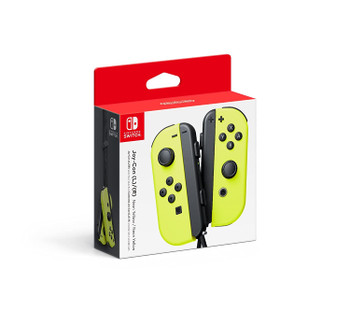 Joy-Con Wireless Controllers - Neon Yellow/Neon Yellow (Nintendo Switch)