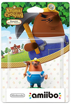 Resetti (Animal Crossing) Amiibo  - Japan Import