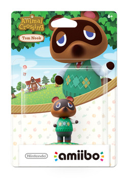 Tom Nook (Animal Crossing) Amiibo  - Japan Import