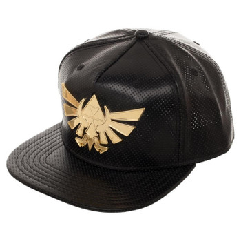 The Legend of Zelda Gold Metalic Sigil Snapback