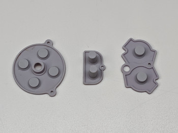 Gameboy Advance - Silicon Pad Set -  GREY (GBA)