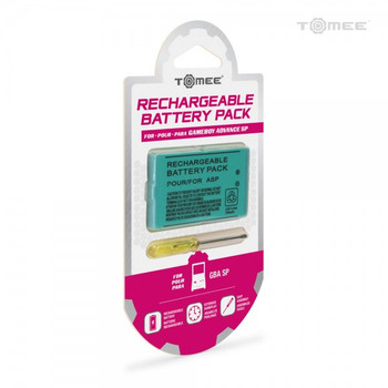 Rechargeable Battery Pack for Game Boy Advance SP (GBASP)