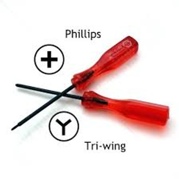 Tri-Wing Y-Tip Screwdriver & Phillips Screwdriver Set  (GBASP)