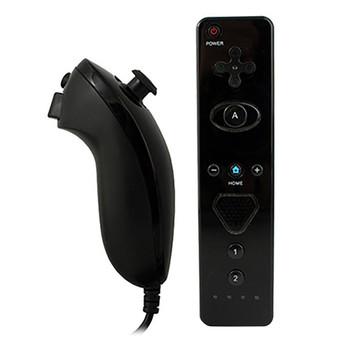 Nintendo Wii KMD Remote & Nunchuck Set - BLACK