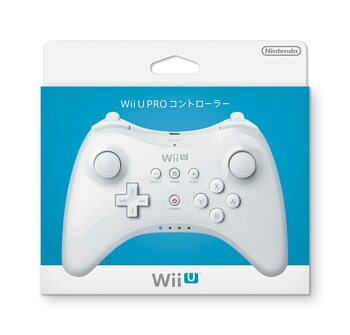 Nintendo Wii U Pro Controller - WHITE