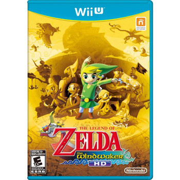 The Legend of Zelda the Windwaker HD (Nintendo Wii U)