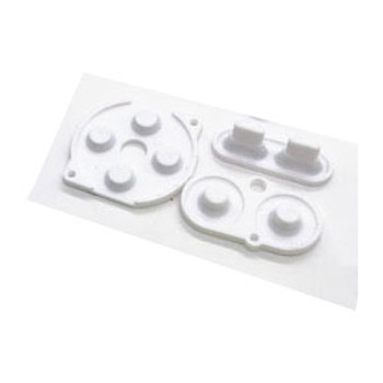 Gameboy Color - Silicon Pad Set -  WHITE (GBC)