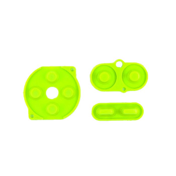 Gameboy Color - Silicon Pad Set -  GREEN (GBC)