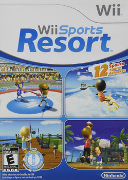 Wii Sports Resort (Nintendo Wii) USED