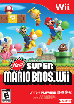New Super Mario Bros. Wii (Nintendo Wii) USED