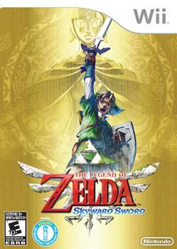 The Legend of Zelda: Skyward Sword (Nintendo Wii) USED