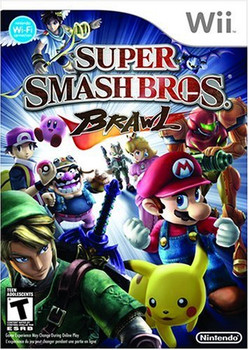 Super Smash Bros. Brawl (Nintendo Wii) USED