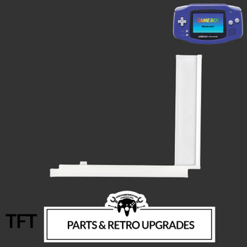 Gameboy Advance IPS LCD CENTERING BRACKET (GBA) WHITE