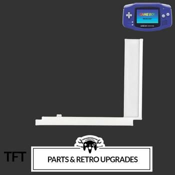 Gameboy Advance IPS LCD CENTERING BRACKET (GBA) WHITE