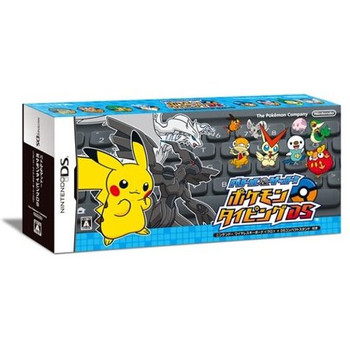 Pokémon Typing Adventure (Nintendo DS) - Japanese Ver. (Black Keyboard)