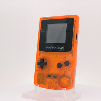 Nintendo GameBoy Color System w/ TFT LCD (CUSTOM) Clear Orange