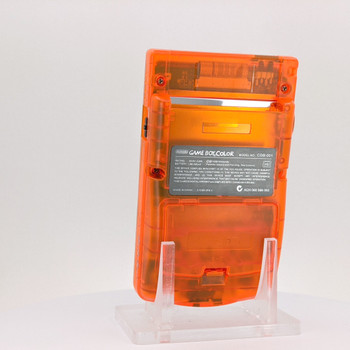 Nintendo GameBoy Color System w/ TFT LCD (CUSTOM) Clear Orange