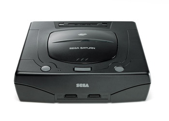 Sega Saturn System - MODEL 2 - BLACK (Sega Saturn) USA
