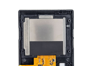 Gameboy Pocket TFT LCD CENTERING BRACKET - BLACK (GBP)