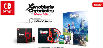 Xenoblade Chronicles: Definitive Edition - EUR Limited Edition Collectors Set (Nintendo Switch)
