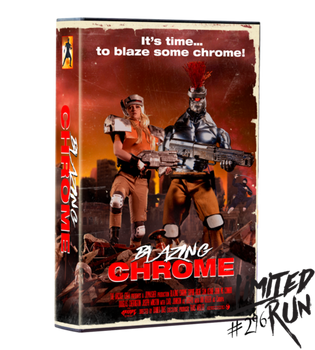 Blazing Chrome VHS Edition PS4 - Limited Run