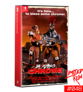 Blazing Chrome VHS Edition NSW - Limited Run