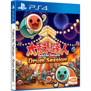 Taiko No Tatsujin: Drum Session! - International Version [English Subtitles] - PlayStation 4