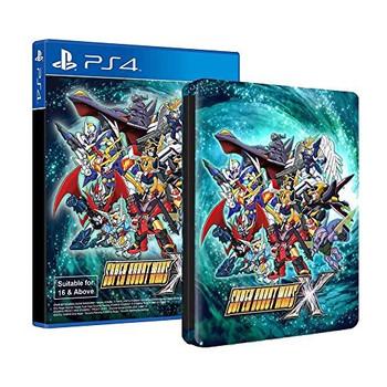 Super Robot Wars X - [English Subtitles] + Bonus Steelbook- PlayStation 4
