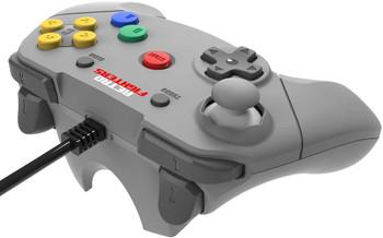Brawler64 USB Gamepad - Grey  (PC/Mac/Switch)