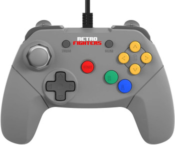 Brawler64 USB Gamepad - Grey  (PC/Mac/Switch)