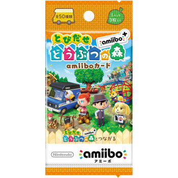 Animal Crossing Amiibo Cards Series - New Leaf Welcome Amiibo - (Japanese)