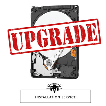 HARD DRIVE UPGRADE - INSTALLATION [SERVICE]