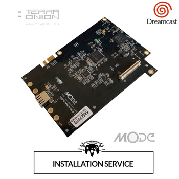 Terraonion MODE Installation Service (Dreamcast) [SERVICE]