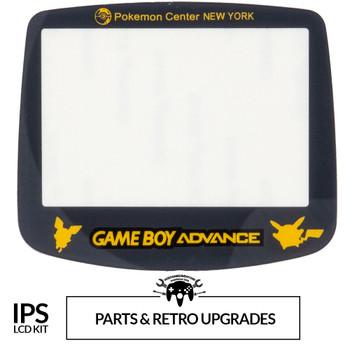GameBoy Advance IPS GLASS LENS - PKMON (GBA)