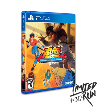 Fu'un Super Combo - Limited Run Games - (Playstation 4)