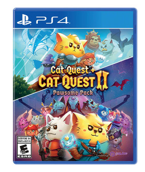Cat Quest and Cat Quest II: The Pawsome Pack - PQube (PlayStation 4)