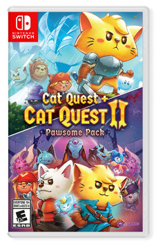 Cat Quest and Cat Quest II: The Pawsome Pack - PQube (Nintendo Switch)