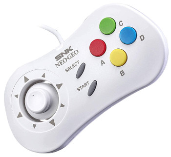 NeoGeo Mini Controller - White