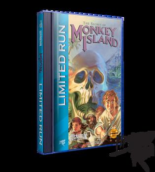 The Secret of Monkey Island Classic Edition - Limited Run Games (Sega CD)