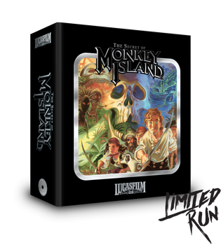 The Secret of Monkey Island Premium Edition - Limited Run Games (Sega CD)
