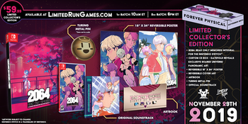 2064:  Read Only Memories Collector's Edition - Limited Run Games - (Nintendo Switch)