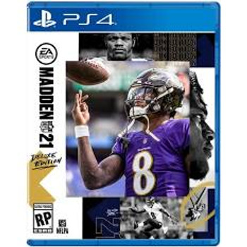 Madden 21 Deluxe (PlayStation 4)