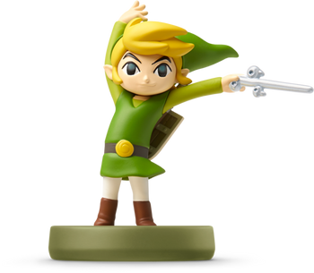 Toon Link (Wind Waker) Amiibo  - Japan Import